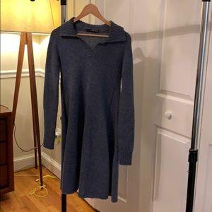 Balenciaga Knits Blue Wool Dress (size 36)